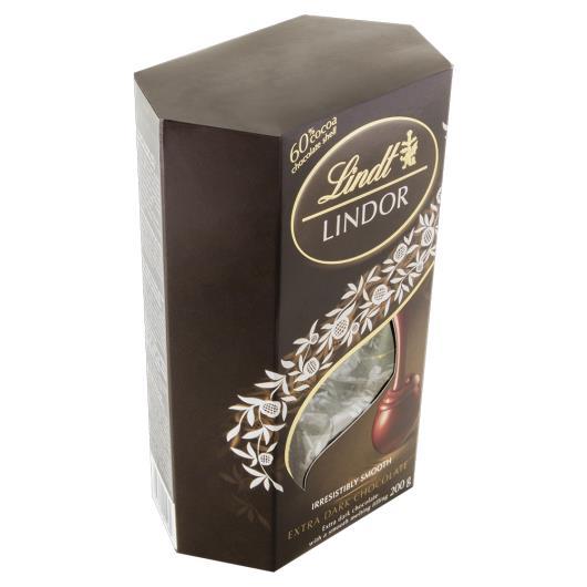 Chocolate Lindt lindor extra dark 200g - Imagem em destaque