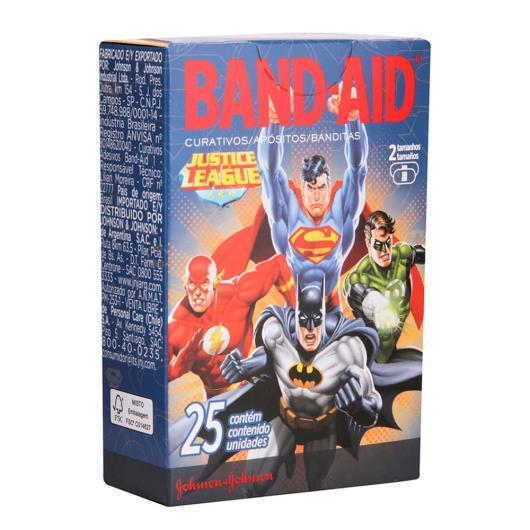 Curativo Band-Aid Liga da Justiça c/ 25 unids. - Imagem em destaque