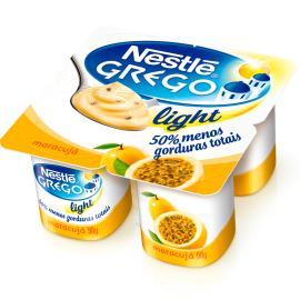 Iogurte Nestlé Grego Light com Maracujá Pote 360g