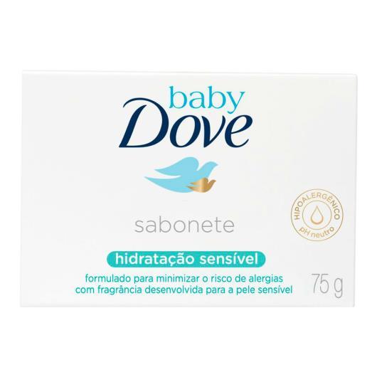 Sabonete Dove baby hidratação sensível 75g - Imagem em destaque