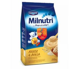 Cereal Milnutri infantil arroz e aveia 230g