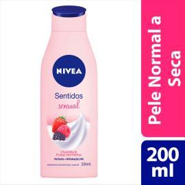 Hidratante Desodorante Nivea Sentidos Sensual 200ml