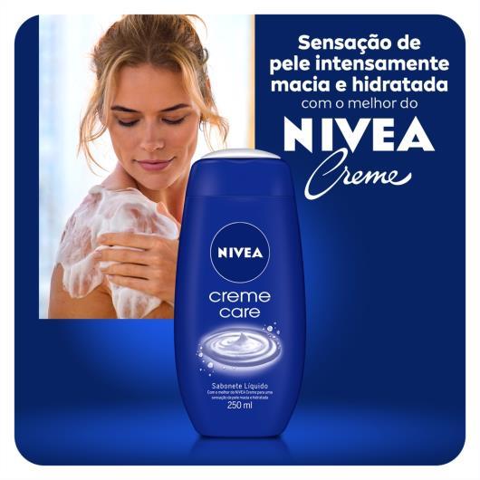 Sabonete Líquido Nivea Creme Care 250ml - Imagem em destaque