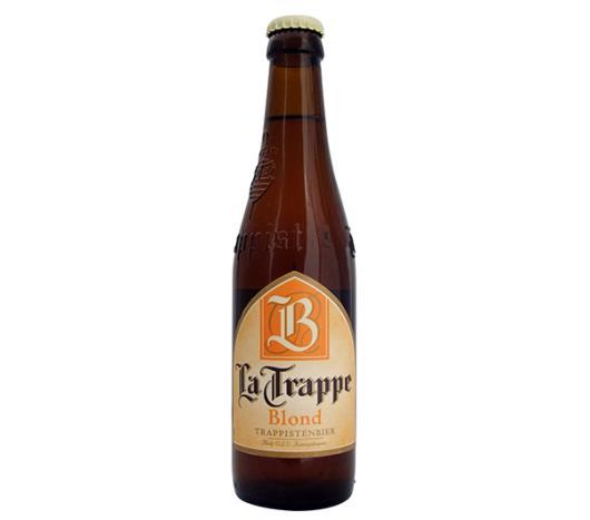 Cerveja La Trappe Blond Trappe long neck 330ml - Imagem em destaque
