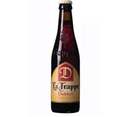 Cerveja Holandesa La Trappe Dubbel Trappistenbier long neck 330ml