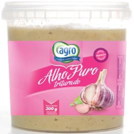 Alho Agro Picado sem sal 200g
