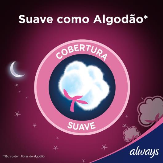 Absorvente Always Noites Tranquilas Suave com abas 32 Unidades - Imagem em destaque