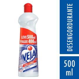 Desinfetante Veja X14 tira limo cloro ativo  leve 500ml pague 400ml