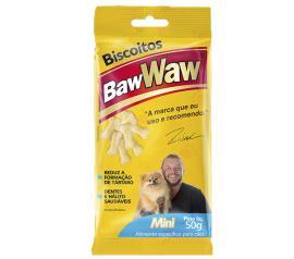 Alimento para cães Baw Waw biscoito mini