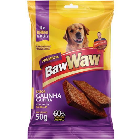 Bifinho Baw Waw galinha caipira 50g - Imagem em destaque