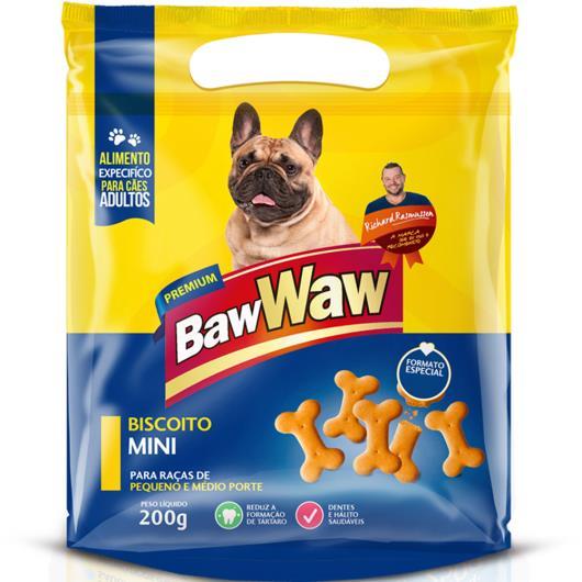 Petisco para cães Baw Waw biscoito mini 200g - Imagem em destaque