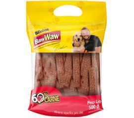 Bifinho Baw Waw sabor carne 500g