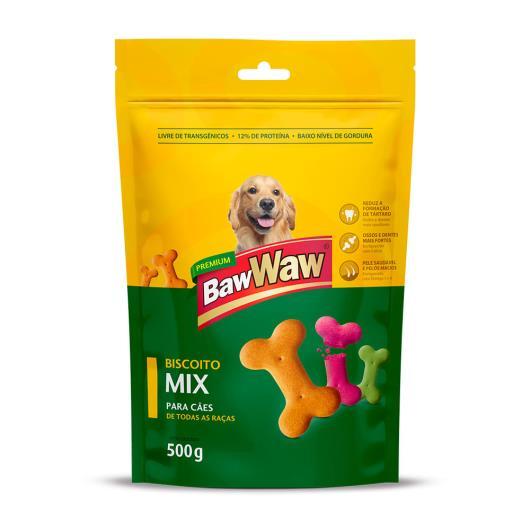Alimento Baw Waw Biscoito mix 500g - Imagem em destaque
