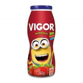 Iogurte Vigor polpa morango meu malvado favorito 180g