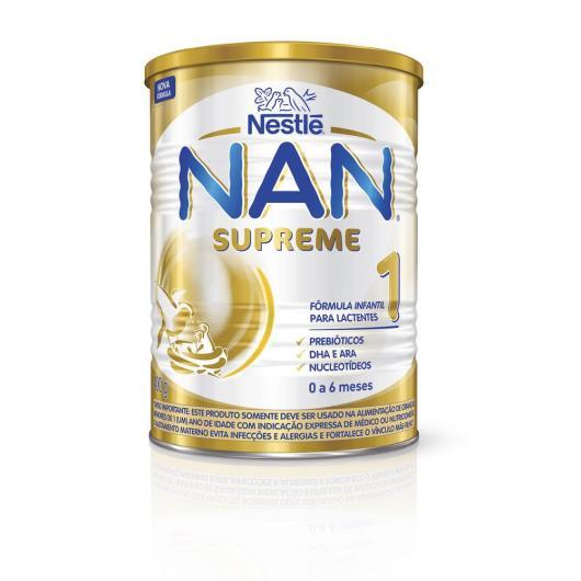 Fórmula infantil Nestlé nan supreme 1 400g - Imagem em destaque