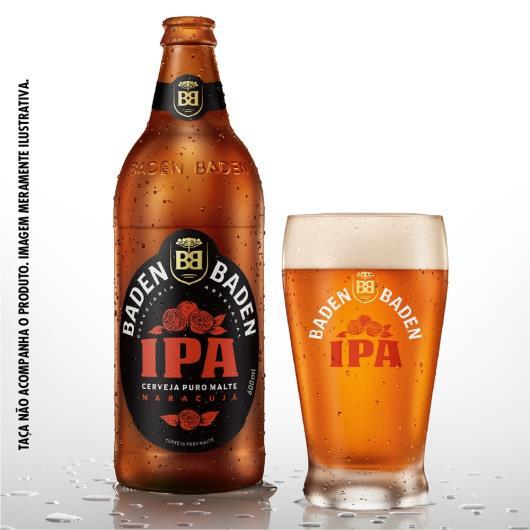 Cerveja Baden Baden American Ipa 600ml - Imagem em destaque