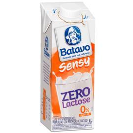 Leite longa vida Batavo Sensy Zero Lactose 1 litro