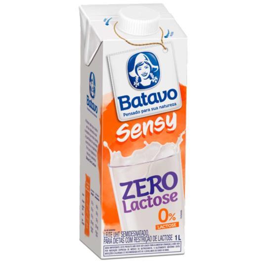 Leite longa vida Batavo Sensy Semidesnatado Zero Lactose 1 litro - Imagem em destaque