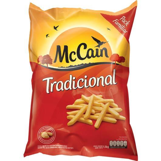 Batata McCain tradicional pré-frita 1,5Kg - Imagem em destaque