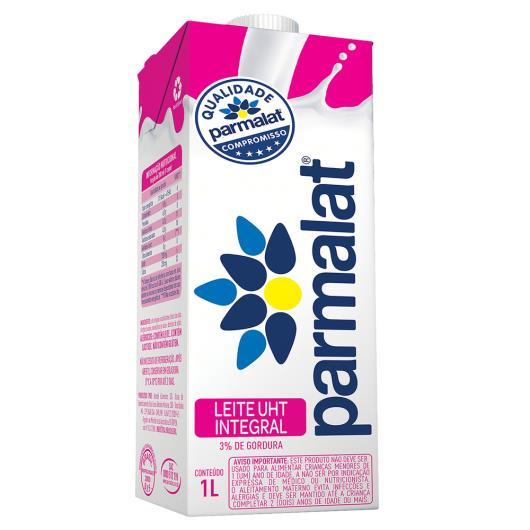 Leite longa vida integral Parmalat 1 litro - Imagem em destaque