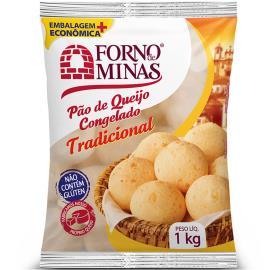Pão de Queijo Forno de Minas Tradicional Congelado 1kg