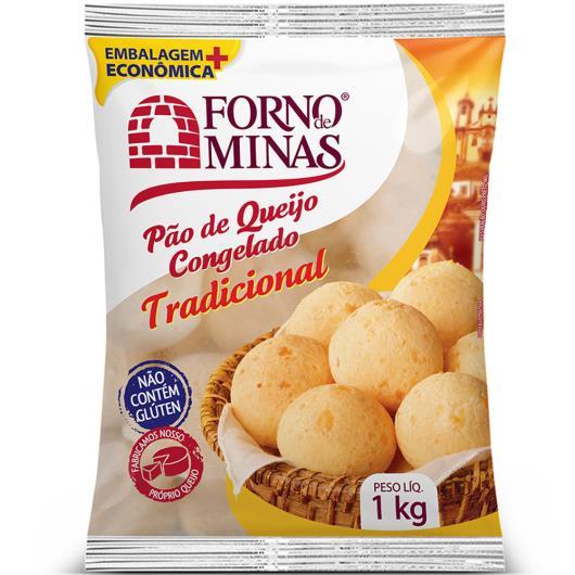 Pão de Queijo Forno de Minas Tradicional Congelado 1kg - Imagem em destaque