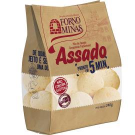 Pão de Queijo Forno de Minas Tradicional Assado Congelado 240g