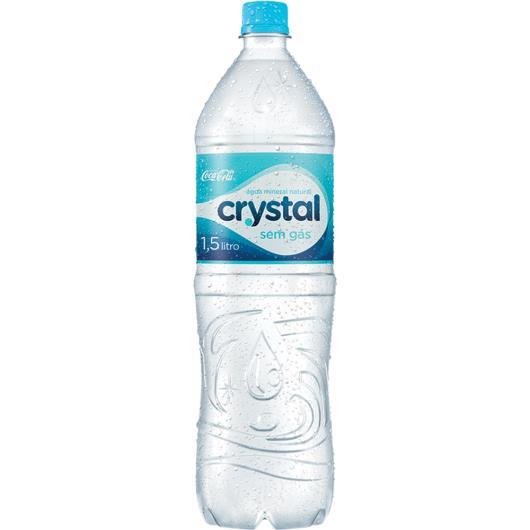 Água Mineral Crystal Sem Gás 8 x 1,5 Litros (PACK) - Imagem em destaque