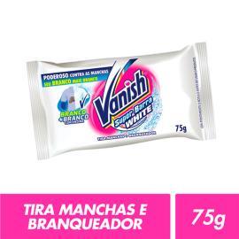 Tira manchas+branqueador Vanish super barra white 75g
