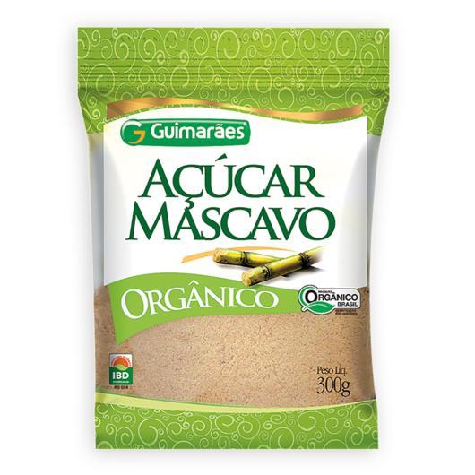 Açúcar mascavo Guimarães orgânico 300g - Imagem em destaque