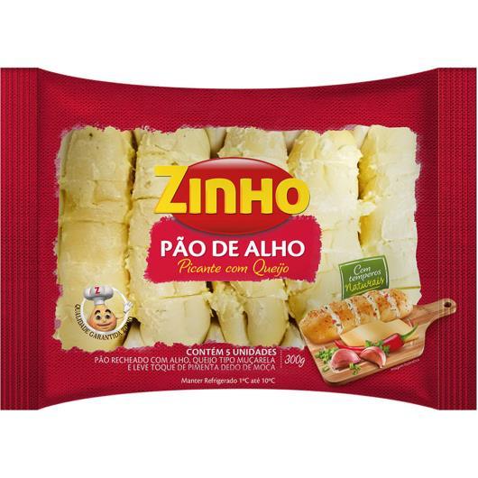 Pão de Alho Zinho picante recheado com queijo 300g - Imagem em destaque