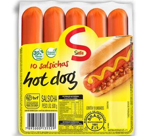 Salsicha hot dog Sadia 500g - Imagem em destaque
