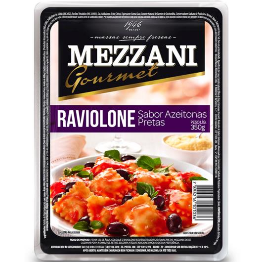 Raviolone Mezzani Gourmet Azeitona Preta 350g - Imagem em destaque