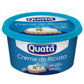 Creme de ricota Quatá light 150g