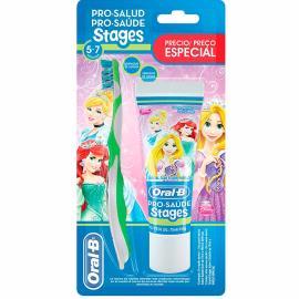 Escova dental oral b stages 3 gratis um creme dental 75ml