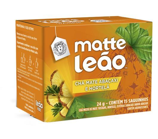 Chá Leão Matte Abacaxi / Hortelã 24g - Imagem em destaque