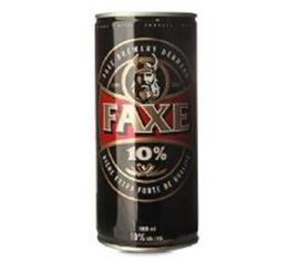 Cerveja Faxe 10% lata 1L