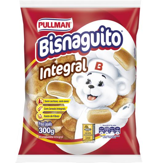Bisnaguinha Pullman Bisnaguito Integral 300g - Imagem em destaque