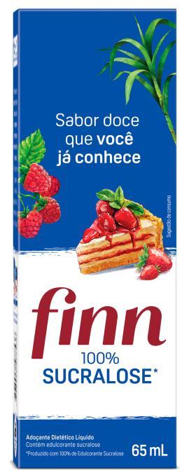 Adoçante Finn 100% Sucralose Liquido 65ml