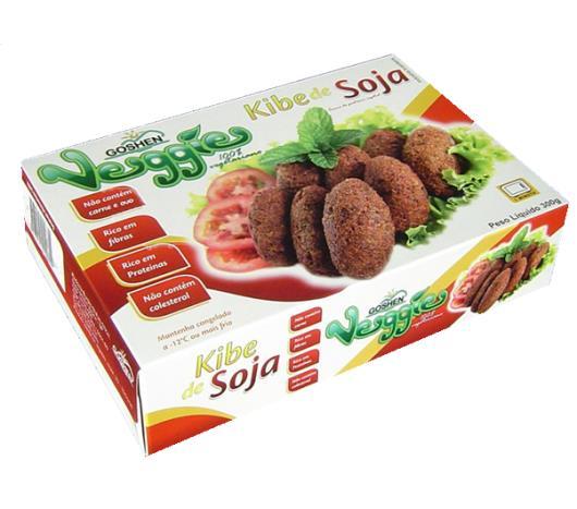Kibe de Soja Goshen Vegges Frito 300g - Imagem em destaque