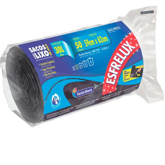 Saco Lixo ESFRELUX rolo 30L - Imagem em destaque
