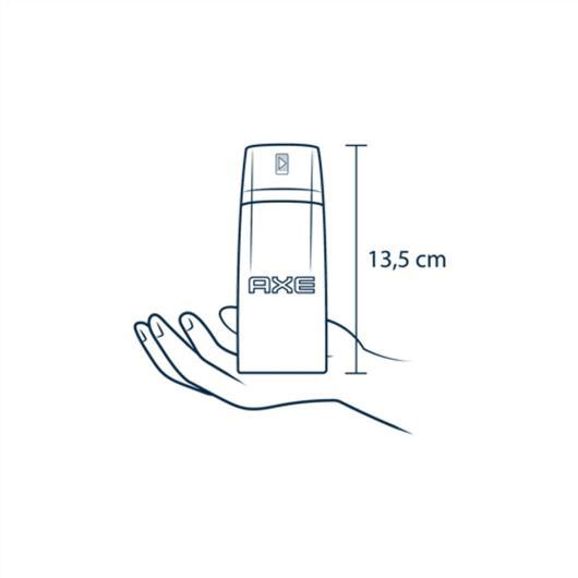 Desodorante Antitranspirante Aerossol AXE Urban Anti Manchas 152ml - Imagem em destaque