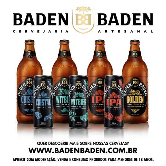 Cerveja Baden Baden Witbier Garrafa 600ml - Imagem em destaque