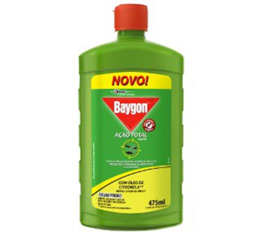 Inseticida Baygon Ação Total Base Água 475ml - Imagem em destaque