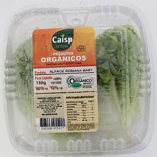 Alface Romana Baby Orgânica Caisp  150g - Imagem em destaque