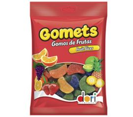 Bala Gomets Gomos Frutas 190g