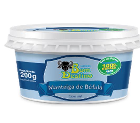 Manteiga Bom Destino Búfala 200g - Imagem em destaque