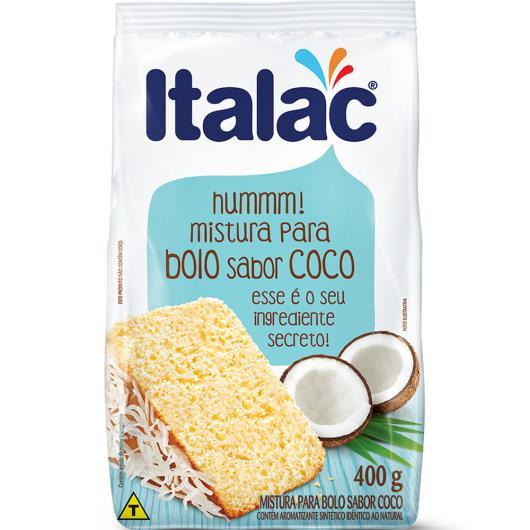 MISTURA PARA BOLO SABOR COCO ITALAC 400g - Imagem em destaque