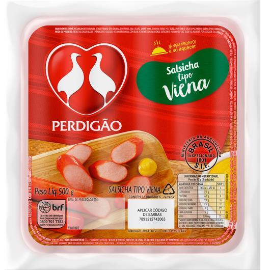 Salsicha  Perdigão viena 500g - Imagem em destaque