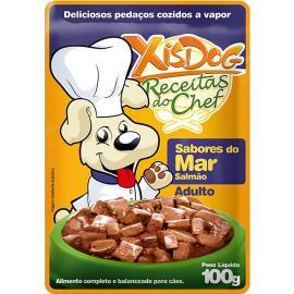 Alimentos para Cães Xisdog Adulto Sabores do Mar 100gr